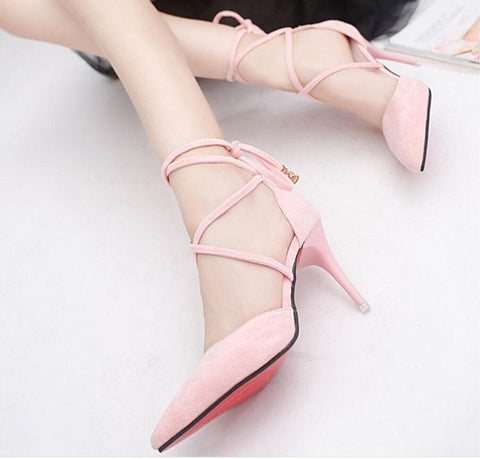 SIKETU Free shipping Spring and autumn high heels shoes Career sex women shoes Wedding shoes pumps g017 - Bad Ass Shoes