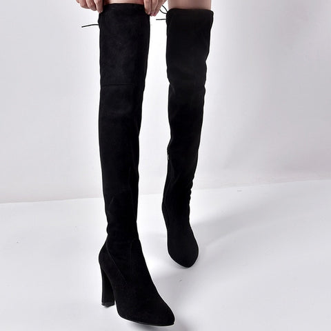 Sexy Women  Over the Knee Boots