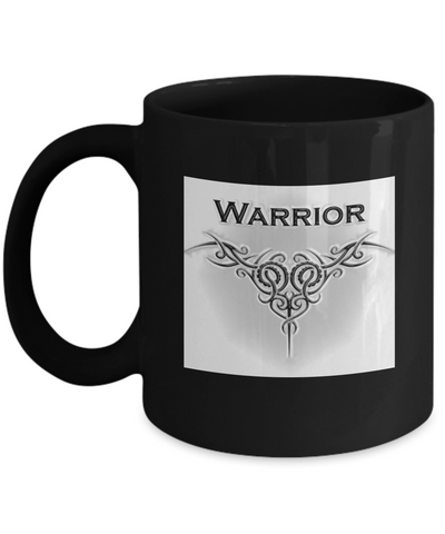 Warrior Coffee Mug - 11 oz. - Bad Ass Shoes