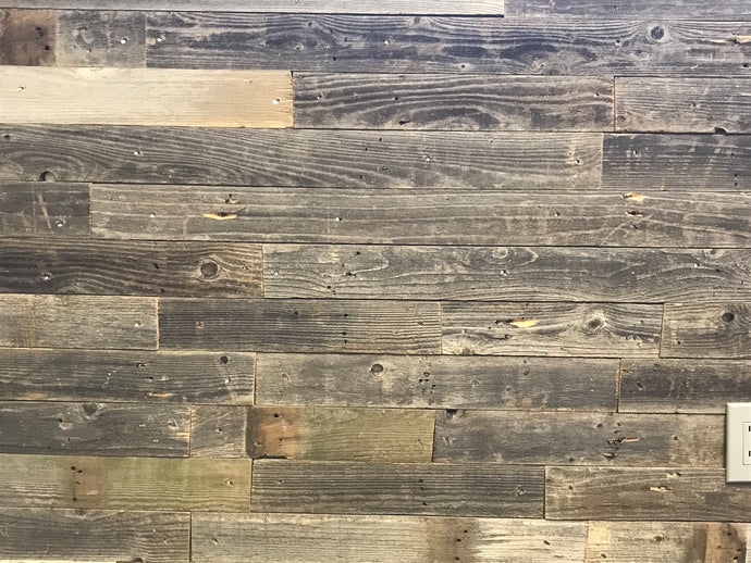 Rustic Plank Permanent Peel and Stick 5