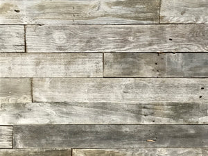 White Wash Plank Permanent Peel and Stick 5""
