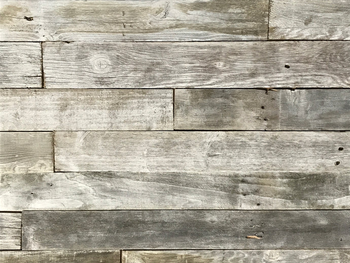 White Wash Plank Permanent Peel and Stick 5