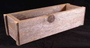 Rustic Planter Box 14""