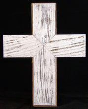 White Wash Cross - Table Stand