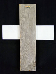 White Wash Cross - Wall Mount