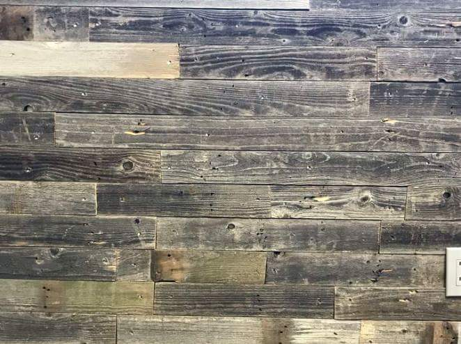 Rustic Plank Permanent Peel and Stick 3