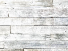 White Wash Plank Permanent Peel and Stick 3""