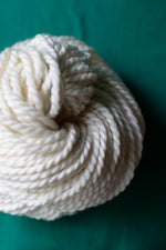 2-Ply Chunky Undyed Yarn (1 skein Sample Only) SAMPLE dyersupplier