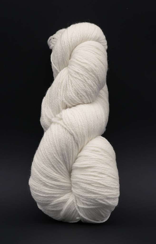 80/20 Merino Nylon Fingering Undyed Yarn (Sample Skein) Single Skein dyersupplier