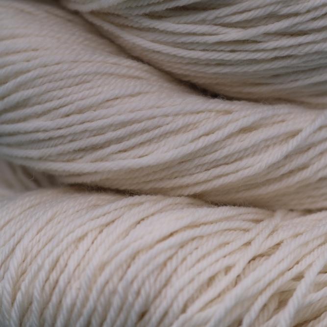 Angel Hair Fingering Non Superwash Undyed Yarn (Single Skein) dyersupplier