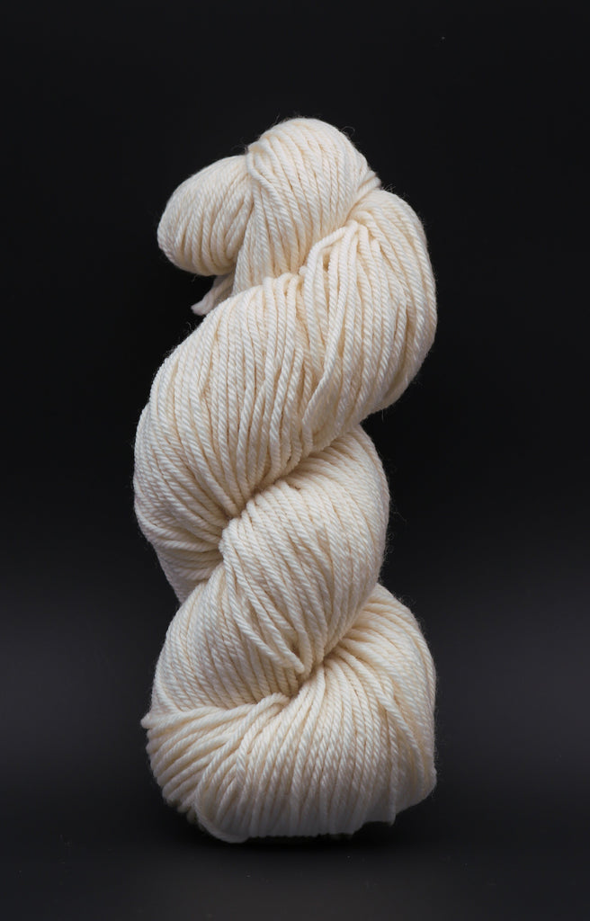 Bouncy Aran Undyed Yarn (Sample Skein) Single Skein dyersupplier