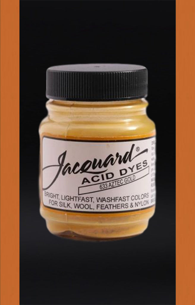 Jacquard Acid Dyes in Aztec Gold dyersupplier Aztec Gold (#633)