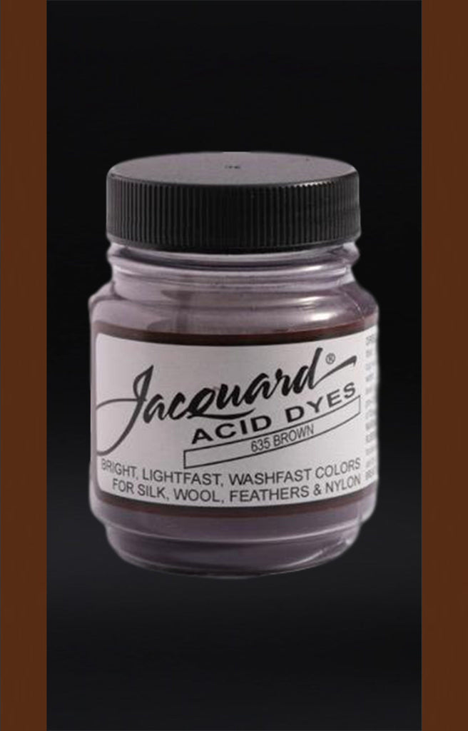 Jacquard Acid Dyes in Brown dyersupplier Brown (#635)