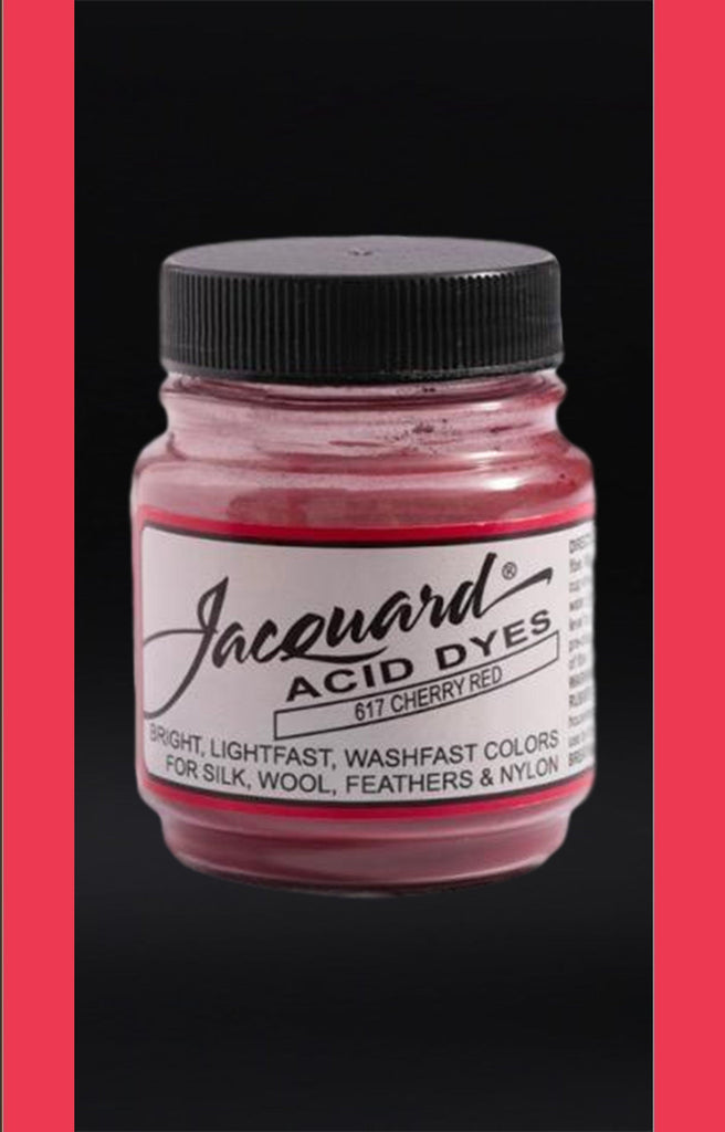 Jacquard Acid Dyes in Cherry Red dyersupplier
