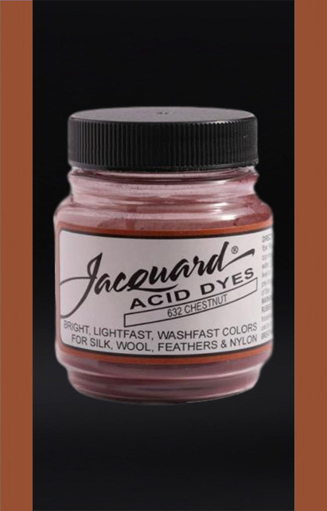 Jacquard Acid Dyes in Chestnut dyersupplier Chestnut (#632)