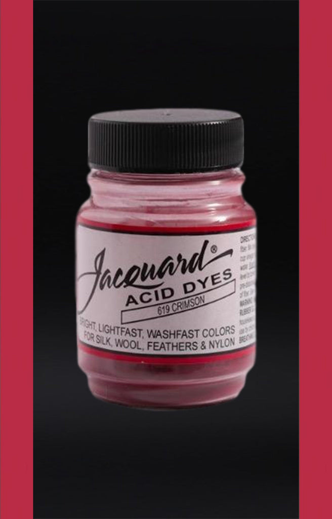 Jacquard Acid Dyes in Crimson dyersupplier