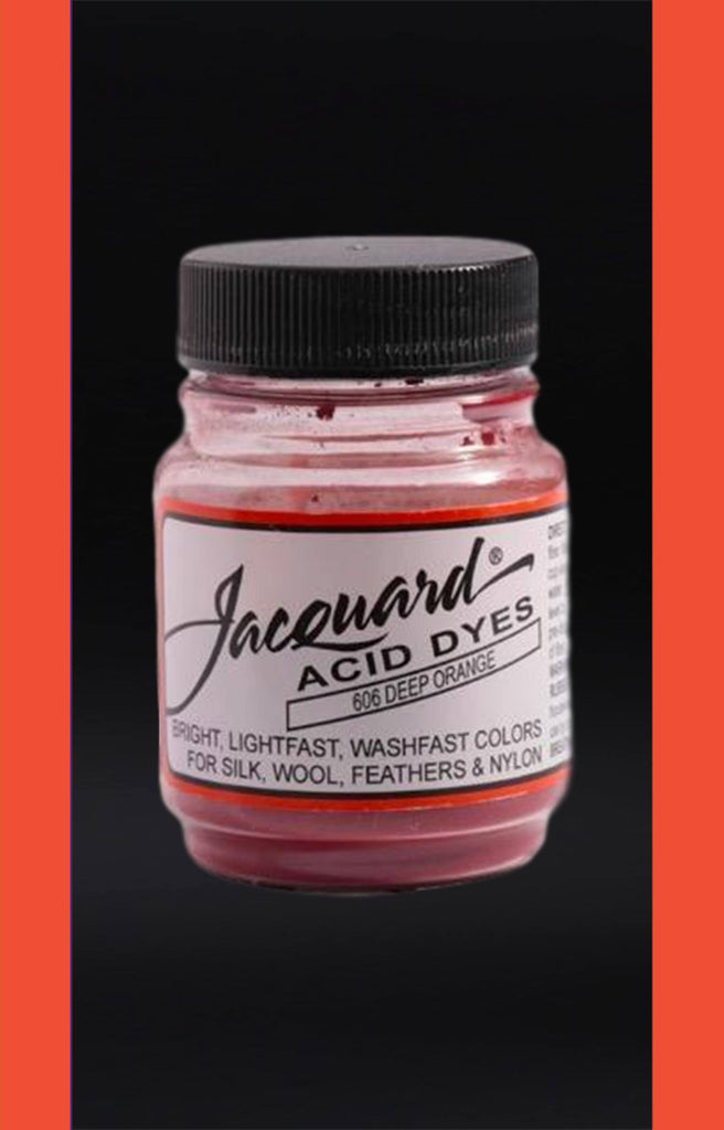Jacquard Acid Dyes in Deep Orange dyersupplier