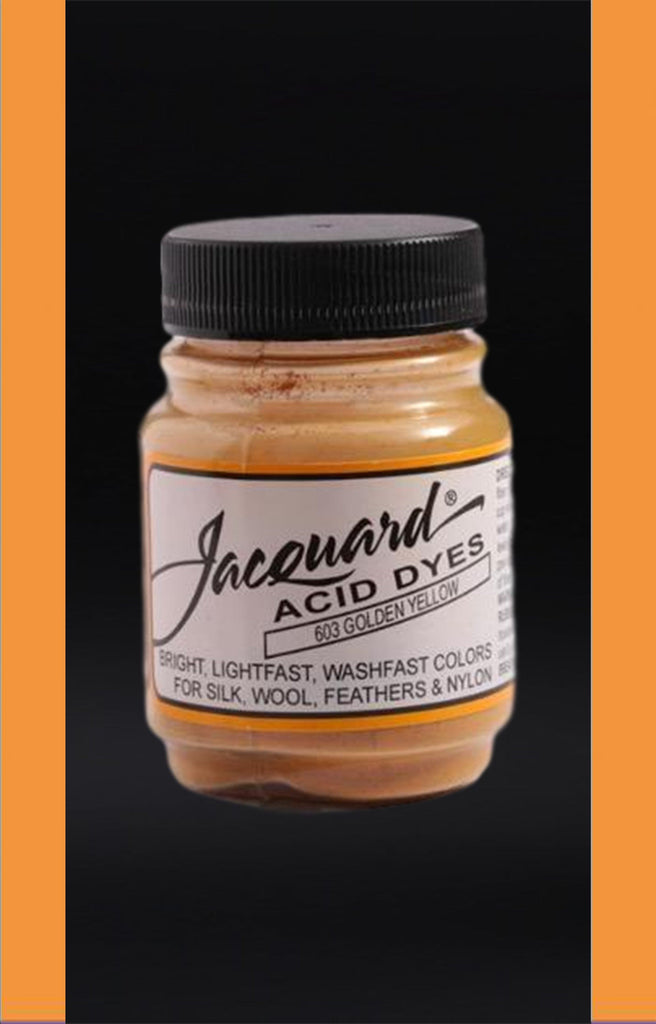 Jacquard Acid Dyes in Golden Yellow dyersupplier