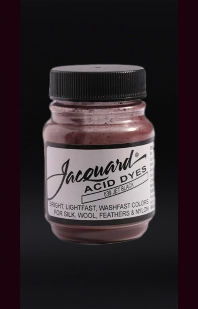Jacquard Acid Dyes in Jet Black dyersupplier Jet Black (#639)