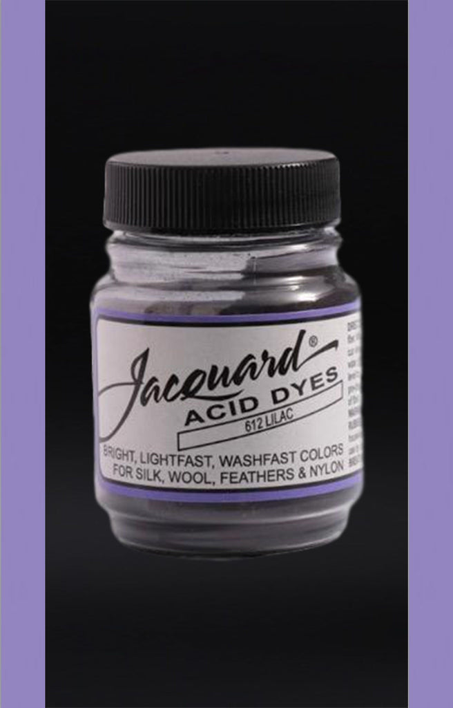 Jacquard Acid Dyes in Lilac dyersupplier Lilac (#612)