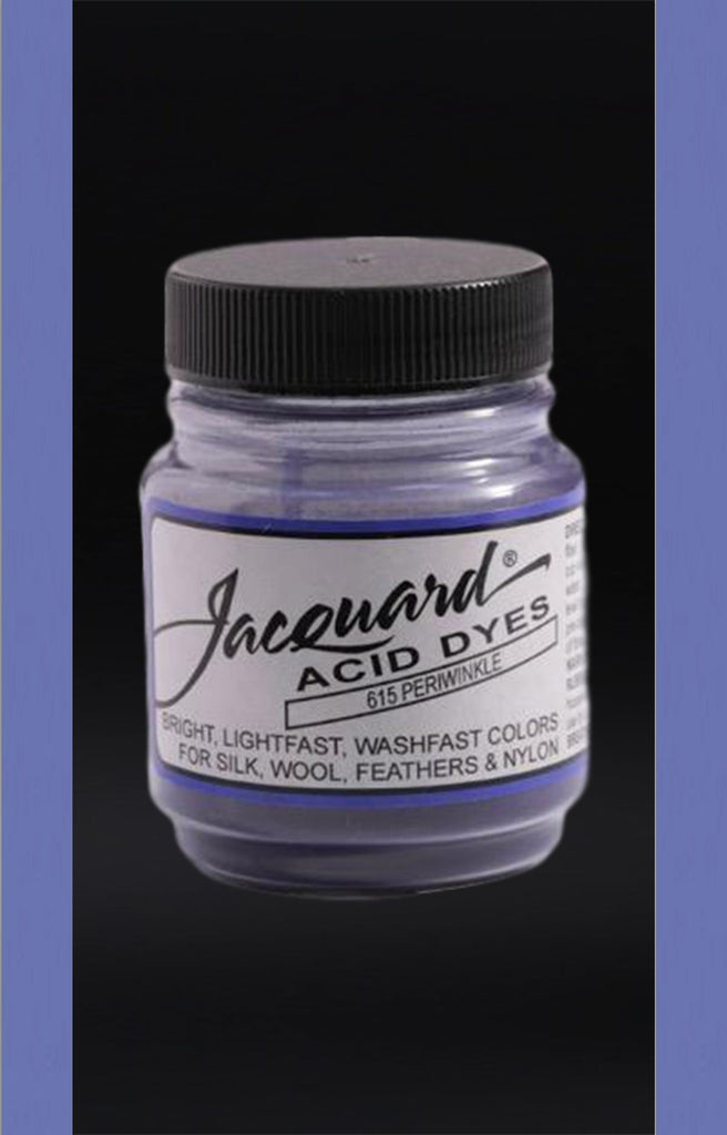 Jacquard Acid Dyes in Periwinkle dyersupplier Periwinkle (#615)