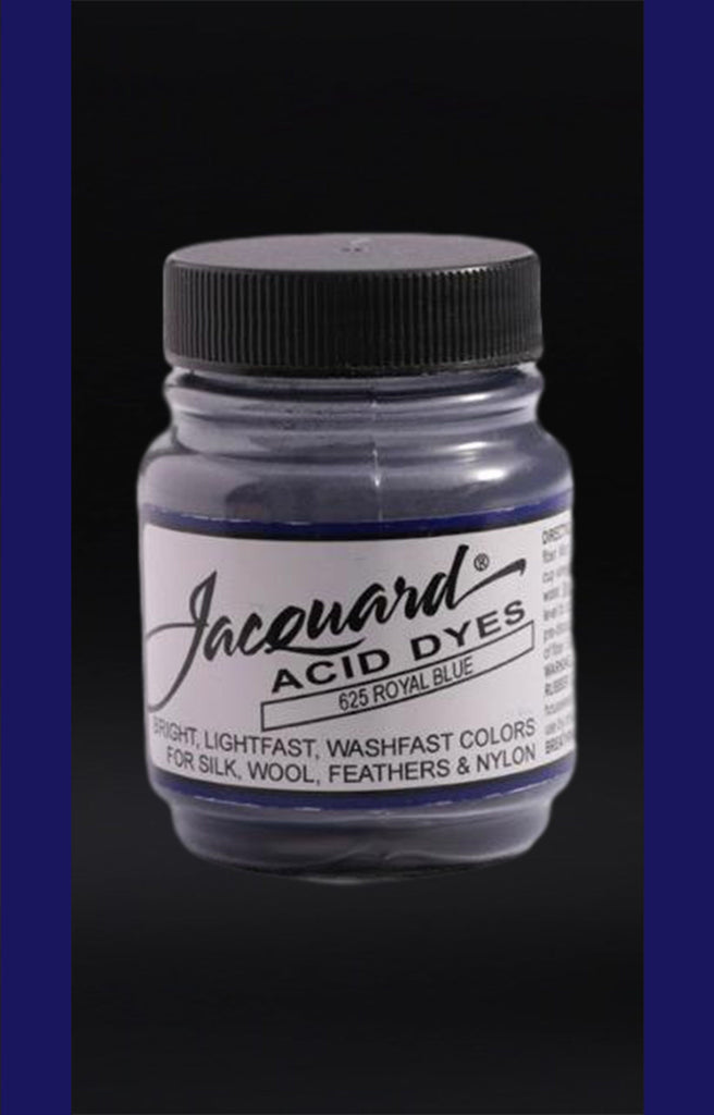 Jacquard Acid Dyes in Royal Blue dyersupplier Royal Blue (#625)