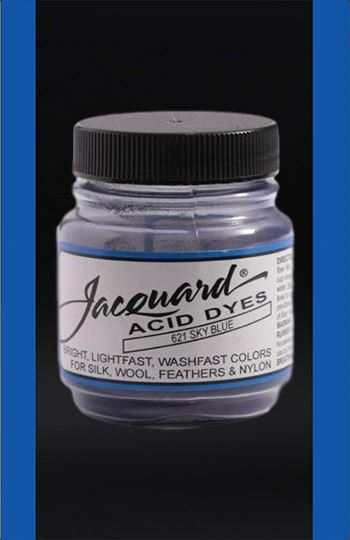 Jacquard Acid Dyes in Sky Blue dyersupplier
