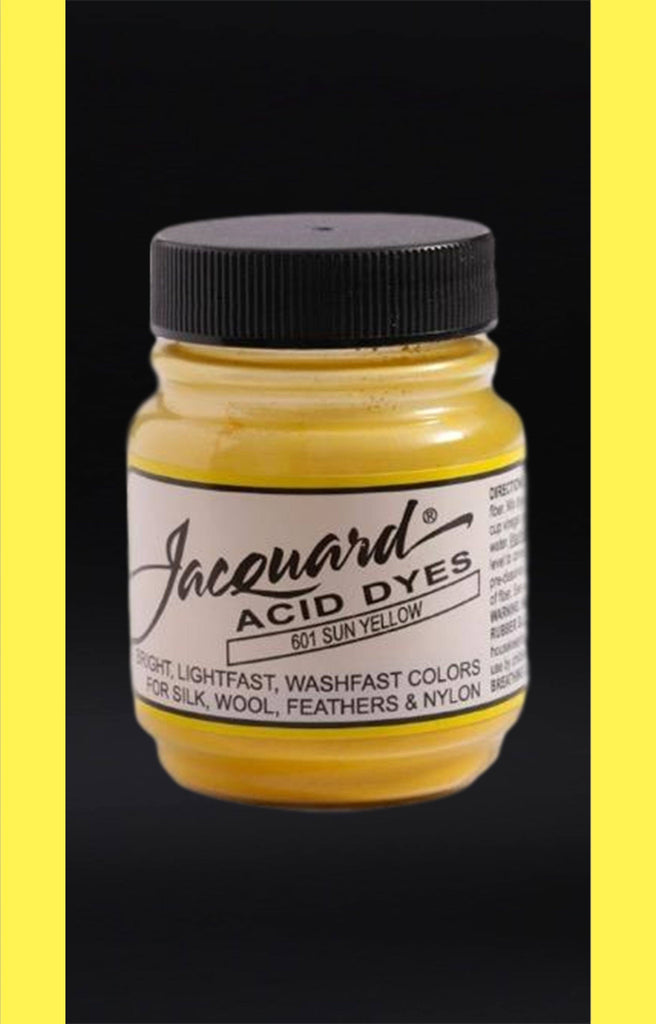 Jacquard Acid Dyes in Sun Yellow dyersupplier
