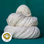 LE Luxury Worsted Undyed Yarn (Sample skein) SAMPLE dyersupplier