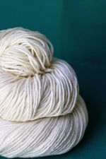 LE Silk Worsted Undyed Yarn (5 x 100g Pack) dyersupplier
