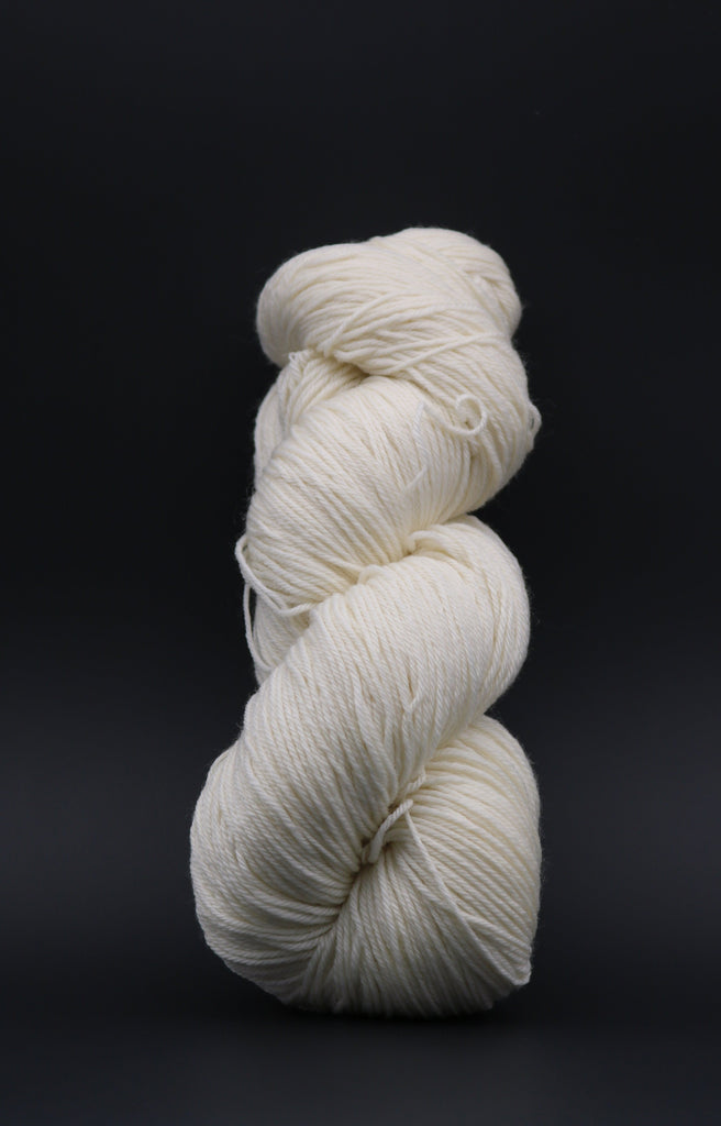 Nice & Round Fingering Undyed Yarn (Sample Skein) Single Skein dyersupplier