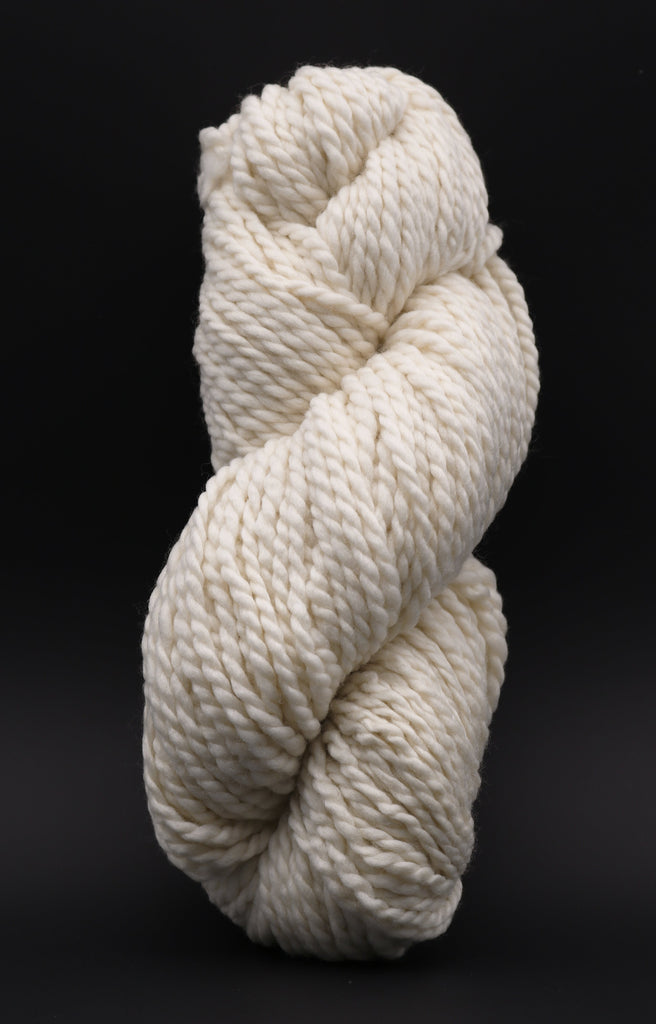 Non SuperWash Cloud Chunky 2 Ply Undyed Yarn (Single Skein) dyersupplier