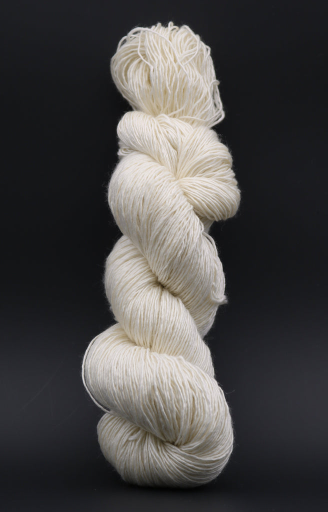 Silky Single Undyed Yarn (5 x 100g Pack) SW Merino | Silk dyersupplier