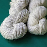 Silvery Sock Undyed Yarn (Sample Skein) SAMPLE dyersupplier