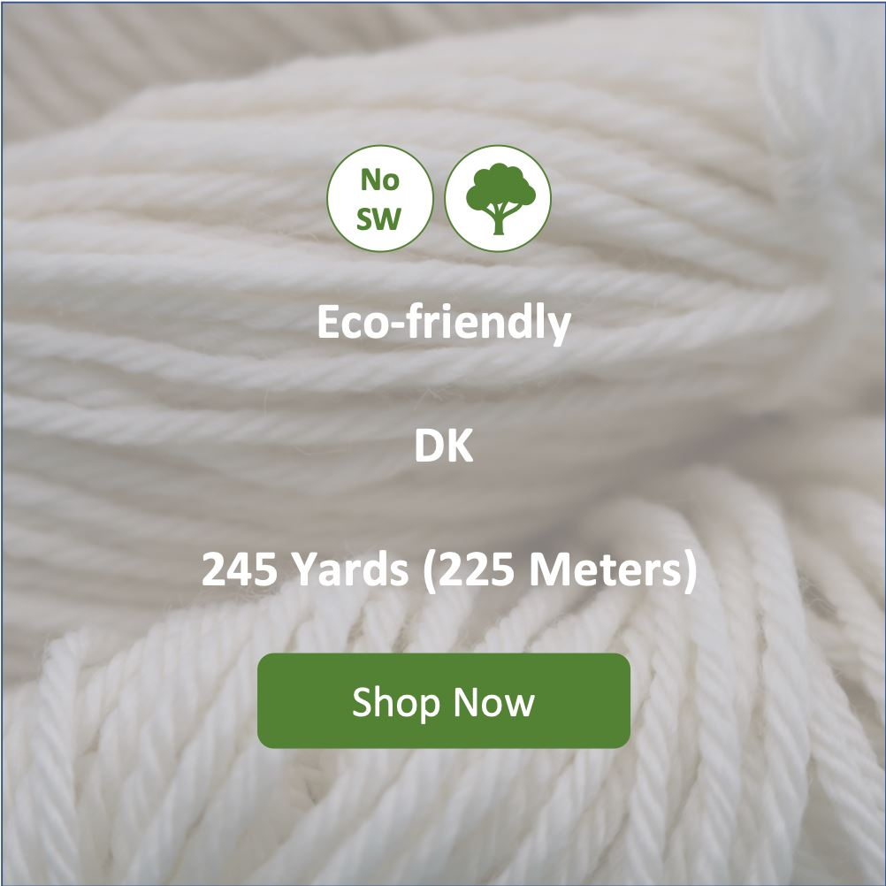 Taffy DK Non Superwash Undyed Yarn (Single Skein) dyersupplier