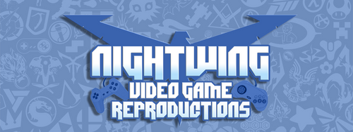 Nightwing Video Game Reproductions