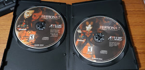Persona 2 Eternal Punishment Playstation Reproduction