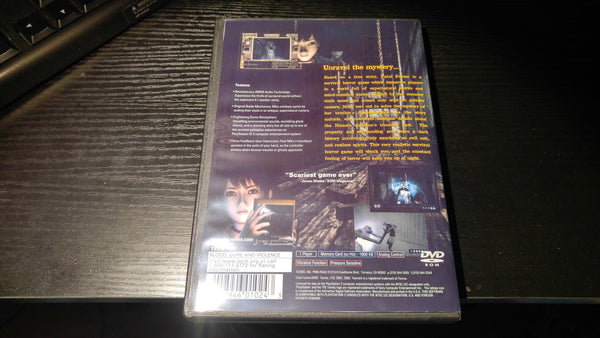 Fatal Frame PS2 Reproduction copy