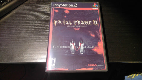 Fatal Frame II PS2 Reproduction copy