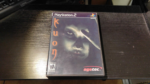 Kuon PS2 Reproduction copy