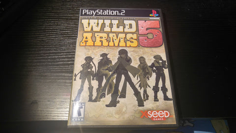 Wild Arms 5 PS2 Reproduction copy