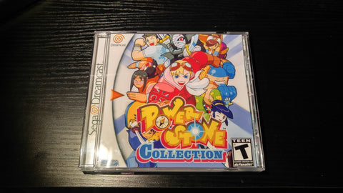 Power Stone Collection Sega Dreamcast Reproduction back up