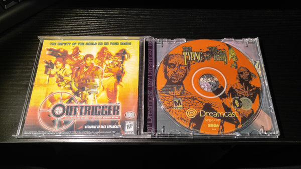 The Typing of The Dead Sega Dreamcast Reproduction back up