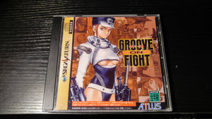 Groove on Fight Sega Saturn reproduction