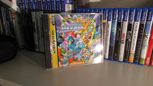 Rockman X3 Sega Saturn reproduction reproduction (u.s. version with jap art)