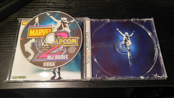 Marvel vs Capcom 2 MJ Remix reproduction
