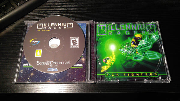 Millennium Racer Y2K Fighters Sega Dreamcast reproduction