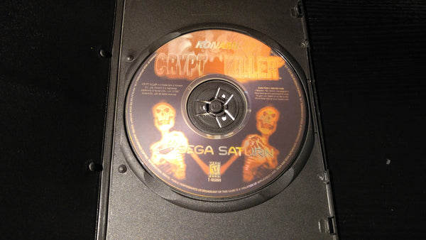Crypt Killer Sega Saturn reproduction
