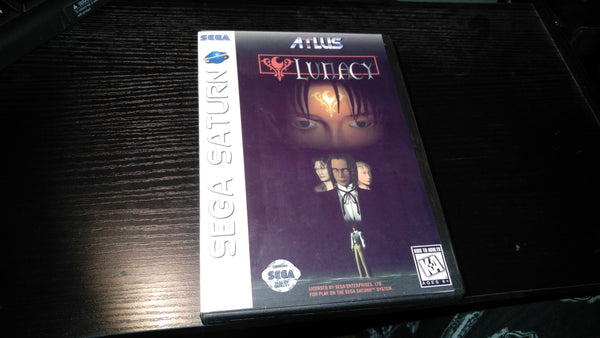 Lunacy Sega Saturn reproduction