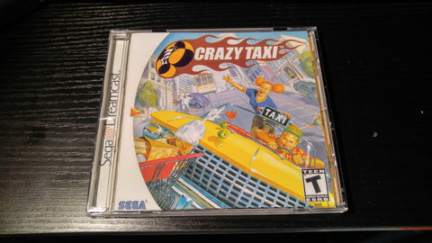 Crazy Taxi Sega Dreamcast reproduction